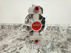 Aro 66605J-3EB 1/2 In 13 Max GPM 100 Max PSI Air Operated Double Diaphragm Pump