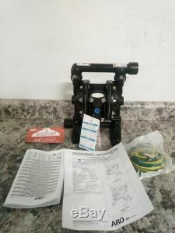 Aro PD07R-BAS-FTT 3/4 In Outlet Size 13.6 Max GPM Air Operated Diaphragm Pump