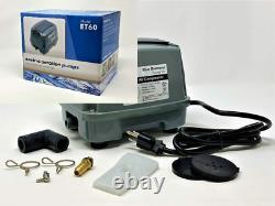 Blue Diamond ET60+ Plus Septic or Pond Linear Diaphragm Air Pump with Free