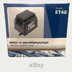 Blue Diamond ET 40 Septic or Pond Linear Diaphragm Air Pump