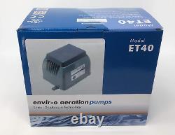Blue Diamond Pumps Blue Diamond ET 40 Septic or Pond Linear Diaphragm Air Pump