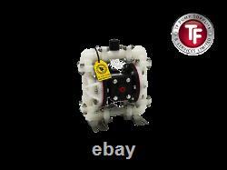 Compatible Sandpiper S05B2P1TPBS000 Air Diaphragm Pump 1/2 BSP (PP/PTFE/SA/SA)