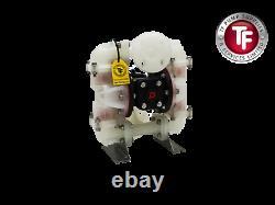 Compatible Sandpiper S10B1P1PPAS000 Air Diaphragm Pump 1 ANSI (PP/PP/SA/SA)