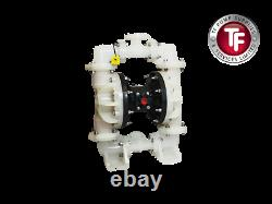 Compatible Sandpiper S20B3P1PPUS000 Air Diaphragm Pump 2 ANSI(PP/PP/SA/SA)Atex
