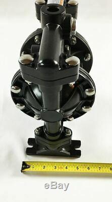 Double Diaphragm Air Pump Chemical Industrial Aluminium 1/2 or 3/4 NPT Inlet/Ou