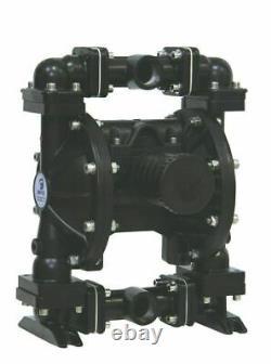 Double Diaphragm Air Pump PII. 100A Chemical Industrial Aluminum 1.00 NPT Inlet