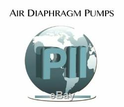 Double Diaphragm Air Pump PII. 38 Chemical Industrial Polypropylene 3/8 NPT Inle