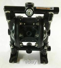 Double Diaphragm Air Pump PII. 50A Chemical Industrial Aluminum 1/2 NPT Inlet /