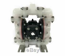 Double Diaphragm Air Pump PII. D50 Industrial Polypropylene 1/2 NPT Inlet / Outl