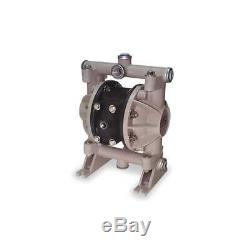Double Diaphragm Pump, Air Operated, 150F 66605J-3EB