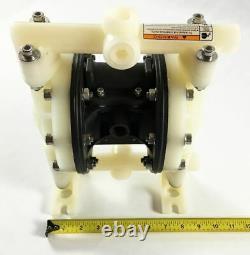 Double Teflon Diaphragm Air Pump Industrial Chemical Polypropylene 1/2 or 3/4