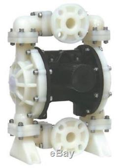 Double Teflon Diaphragms Air Pump PII. 150T Chemical Industrial Polypropylene Bod