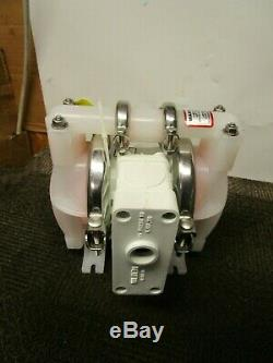 Dover Wilden P1/pppp/wf/wf/kwf 1/2 X1/2 Air Operated Double Diaphragm Pump