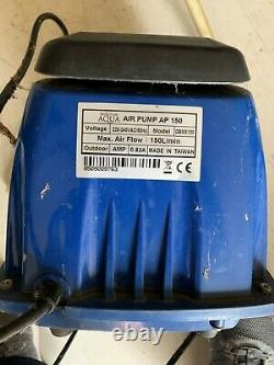 Evolution Aqua 150 Air pump with new diaphragms fitted