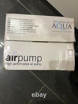 Evolution Aqua Airtech Air Pump 150 Garden Pond Aeration Fish Koi