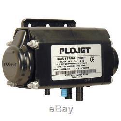 FLOJET Diaphragm Pump, Air Operated, Acetal, 120F, N5100020G
