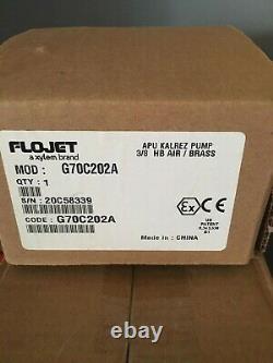 Flojet G70C202A APU Kalrez Pump with Ground Wire 5 GPM Air Diaphragm Pump