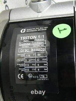 GRACO 233501 Triton 11 150 Air-Operated Diaphragm Pump 24B550 NEW
