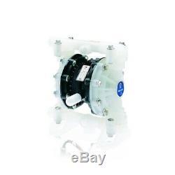 GRACO D52366 Husky 515 Polypropylene Air Operated Double Diaphragm Plastic Pump