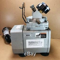 Gast DOA-P704-AA 1/8HP Diaphragm Vacuum/Air Compressor Pump 115V/ 60Hz/ 4.2A