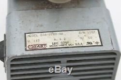 Gast DOA-V188-AA oil-less diaphragm vacuum pump/air compressor