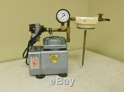 Gast Diaphragm Vacuum Pump with Manual Regeneration Air Dryer DOA-P126-AA