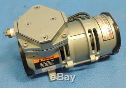 Gast MOA-V112-AE Diaphragm Air Compressor Vacuum Pump 1/16 HP 115V / Works Fine