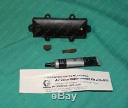 Graco, 239952, 239-952 Air Valve Repair Kit Husky Diaphragm Pump 307