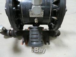 Graco Husky 1040 Diaphragm Pneumatic Pump 120 psi Air-Operated Fuel Oil Diesel