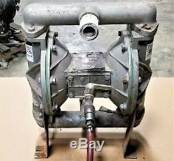 Graco Husky 1 Double Diaphragm Pump, Aluminum, Air Operated SEE VIDEO E1FL