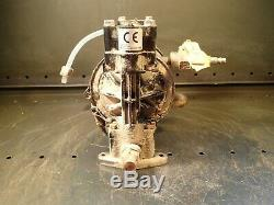 Graco Husky 307 Air Operated Diaphragm Pump Used In Good Condition