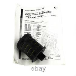 Graco Husky D72966 Air Operated Polypropylene Diaphragm Pump
