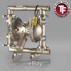 Graco SaniForce 1590 FDA Sanitary Air Diaphragm Pump ATEX FD2113 PTFE/PTFE
