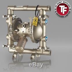 Graco SaniForce 1590 FDA Sanitary Air Diaphragm Pump ATEX FD2132 Polychlo/Sant