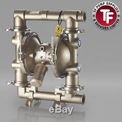 Graco SaniForce 2150 FDA Sanitary Air Diaphragm Pump ATEX FD3211 PTFE/PTFE