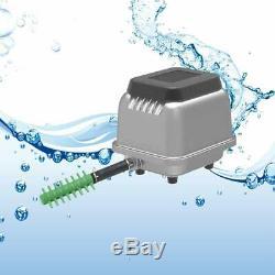 HJB 80 Aquarium Fish Tank Septic Pond Linear Diaphragm Air Pump Aqua Blower UK