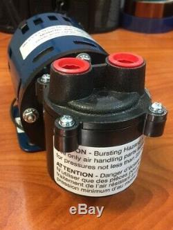 HUGE SAVINGS on Air Cadet Vacuum/Pressure Pump, Diaphragm, Single head, 230 VAC