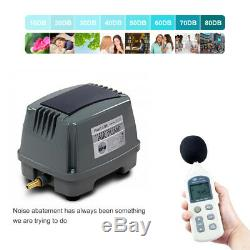 Hailea Air Pump, 80L/M Hiblow Diaphragm Oxygen Pump Aquarium Pond AU Plug