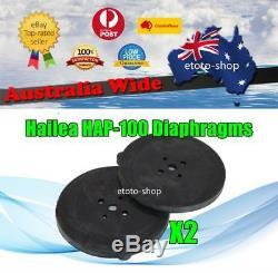 Hailea HAP-100 Septic Air Pump Blower Replacement Diaphragm Twin Pack Original