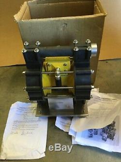 Heavy Duty Polypropylene Air Driven Double Diaphragm Dominator Pump Ab P35 Pbtz
