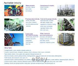 HongChuan Teflon Double Diaphragm Air-Operated Pump 94.6GPM 1/2 inch Air Inlet