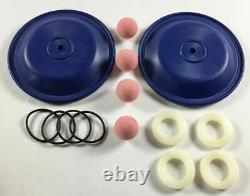 Hytrel Double Diaphragm Wet end Kit for a 1/2 or 3/4 Air Diaphragm Pump