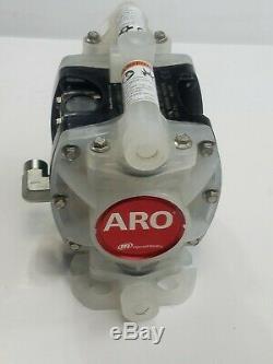INGERSALL RAND ARO PD01P-HPS-PAA-A Polypropylene Air Double Diaphragm Pump