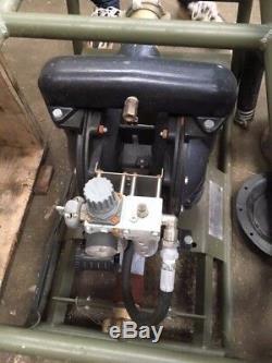 IR Aro Power-Operated Pump 650711-C General Purpose Lightweight Air Driven Pump