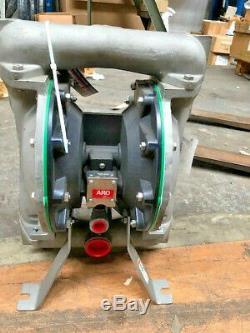 IR Ingersoll Rand Air Special Double Diaphragm Pump 66617B-444-C 120 Psi 8.3Bar