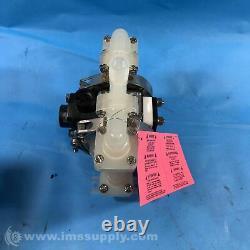 Idex Corp PB 1/4, TS3PP Air-Powered Double-Diaphragm PP Pump FNOB