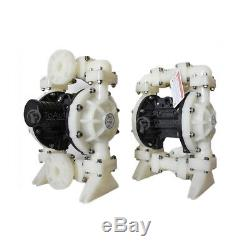 Industrial Double Diaphragm Air Pump Air-Operated Polypropylene 3/8'' Air Inlet