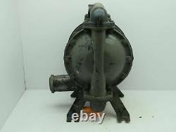 Ingersoll Rand ARO Air Pnuematic Diaphragm Pump 120PSI Aluminum 1-1/2NPT Tested