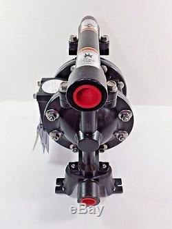 Ingersoll Rand ARO PD07R-AAS-PTT Air Double Diaphragm Pump 3/4 In/Outlet 14 GPM