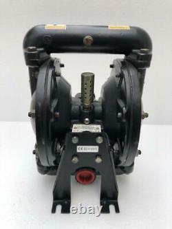 Ingersoll Rand Aro 650717-c Air Double Diaphragm Pump 1 Aluminium